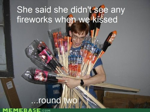 fireworks,kissing,round two,yoibers