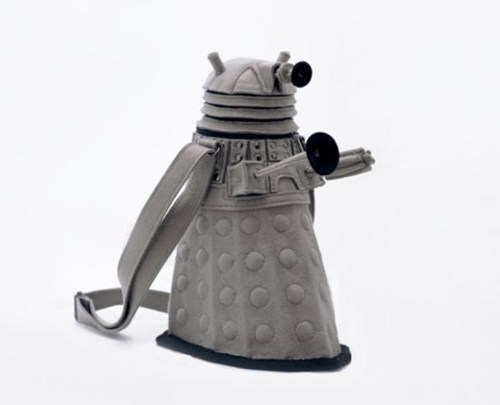 dalek,doctor who,enemy,Exterminate,felt,purse