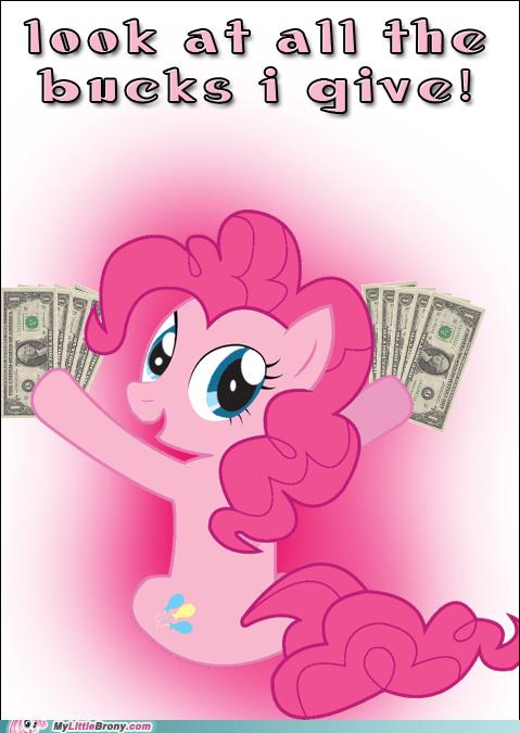 bucks gimme da money pinkie pie - 6596907520