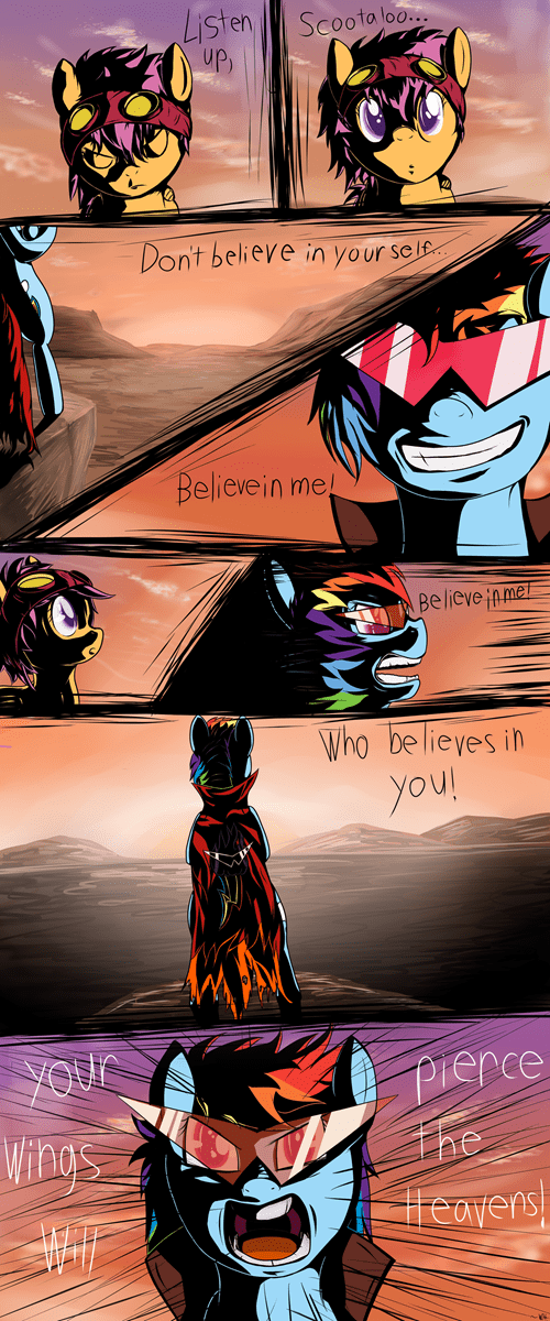 comic rainbow dash Scootaloo - 6596945408