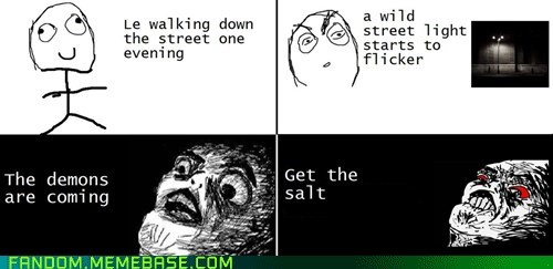 ghosts Rage Comics Supernatural - 6597044736