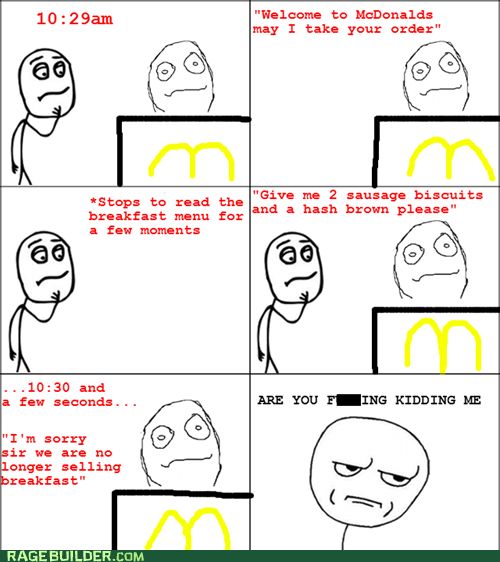 breakfast,McDonald's,breakfast menu