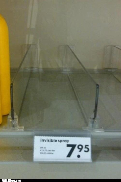 in stock invisible spray spray bottle store - 6598397696