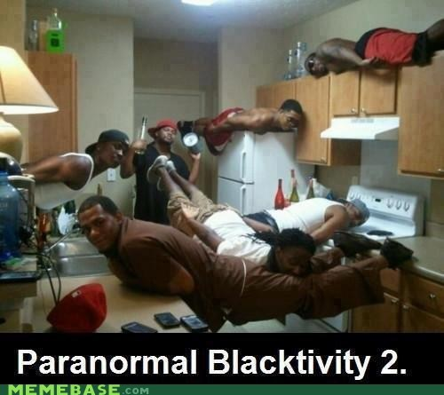 cinema paranormal activity Planking