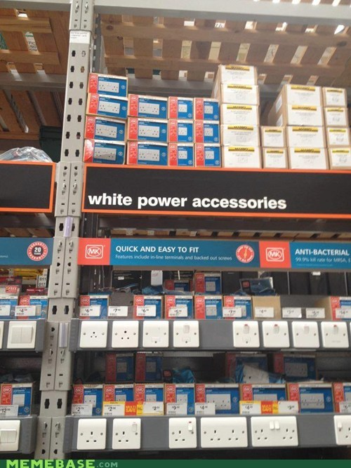 IRL shoppers beware white power - 6598554112