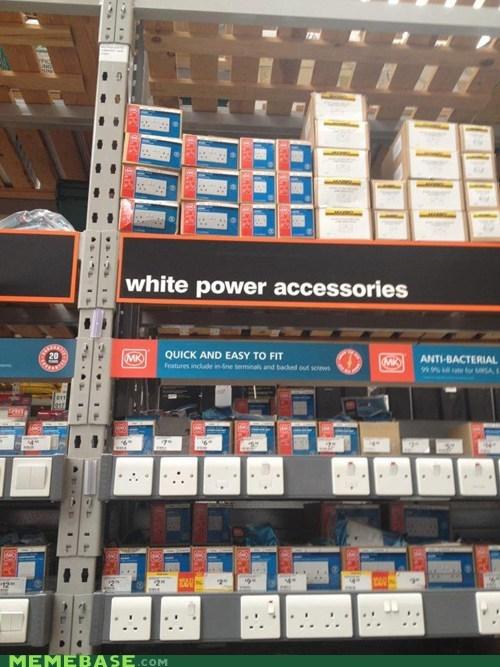 IRL shoppers beware white power - 6598554112