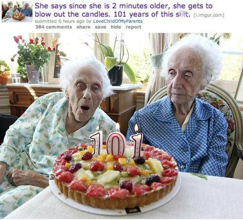birthday old people twins Parenting FAILS - 6598645760