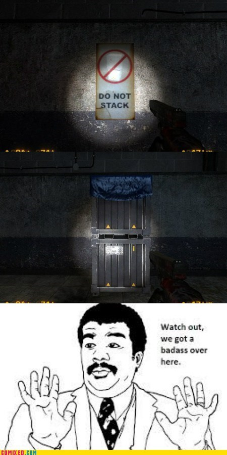 black mesa,video games,we got a badass over here