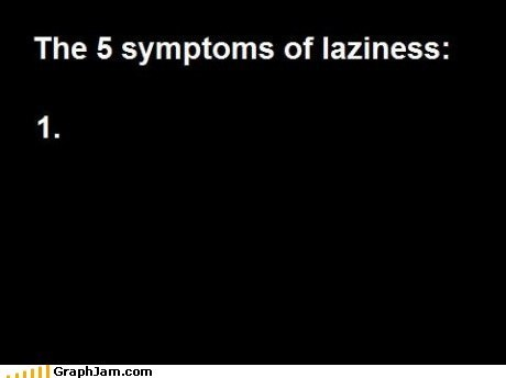 laziness,list,procrastinator