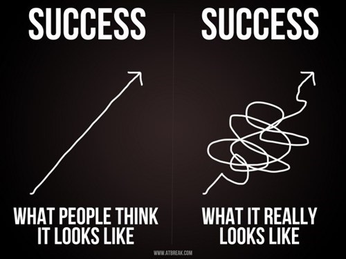 expectation vs reality,line,success