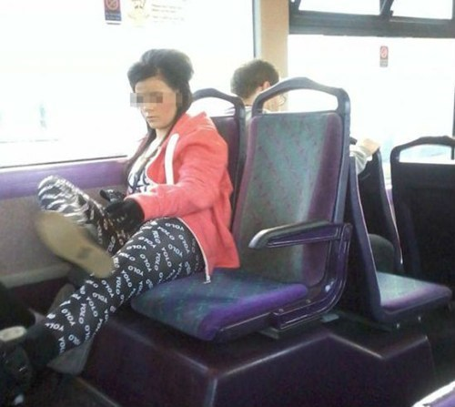bus leggings yolo