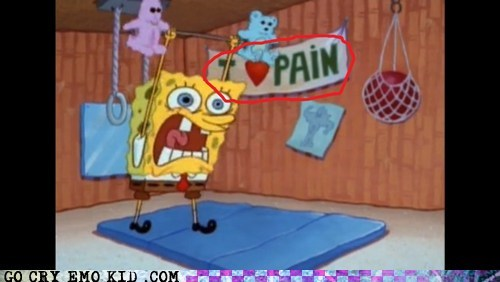 emo,pain,SpongeBob SquarePants,TV