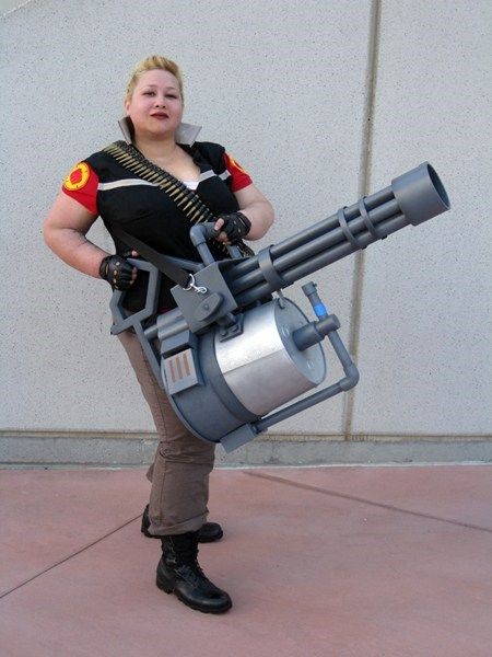 cosplay crossplay heavy TF2 video games - 6599070720