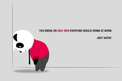 drinking at work mad men not fair - 6599182848
