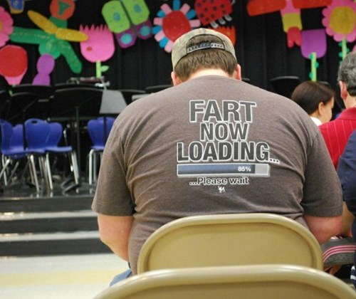 fart,trashy t-shirt