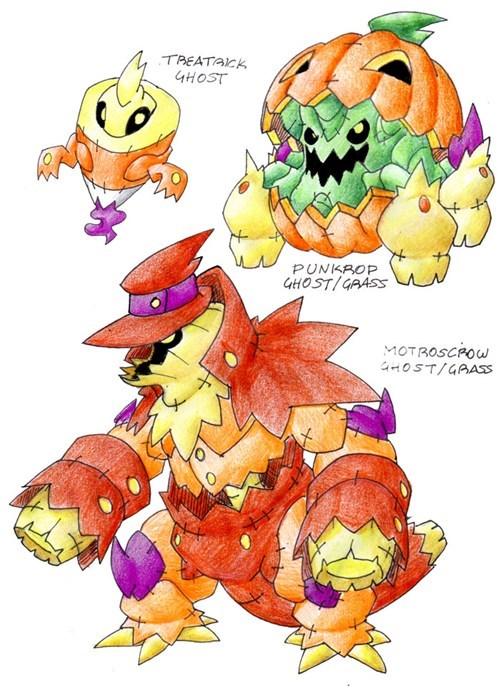 art halloween Pokémon - 6599283712