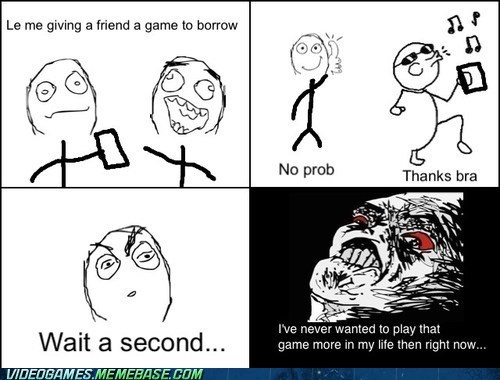 borrowing,friends,rage comic