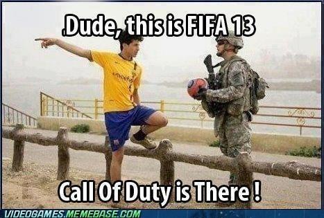 call of duty FIFA 13 IRL soccer - 6599423488