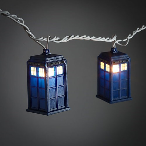 christmas lights doctor who lights tardis - 6599449600