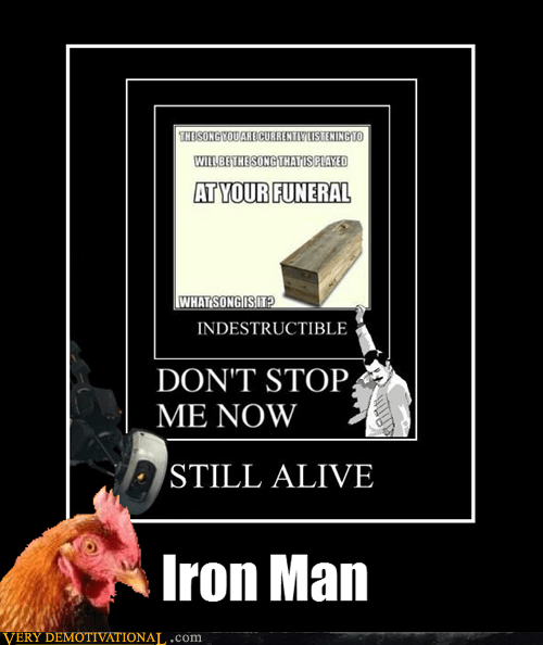anti joke chicken iron man - 6599620864