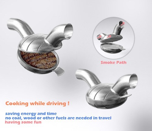 burger car cook exhaust gross - 6599629824