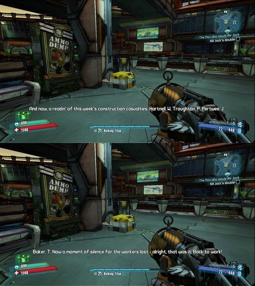 actors borderlands 2 casualties doctor who easter egg jon pertwee patrick troughton the doctor tom baker video games william hartnell
