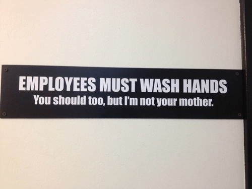 bathroom,sign,work