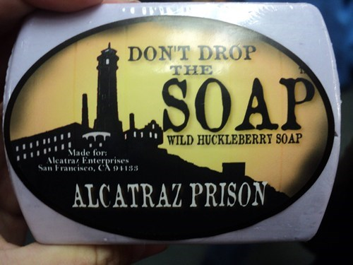 alcatraz,prison,soap,whoops