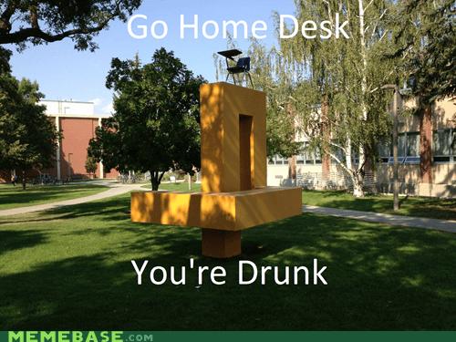 art desk drunk sculpture youre-drunk - 6600119808