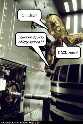 c3p0 r2d2 knock privacy star wars droids - 6600122112
