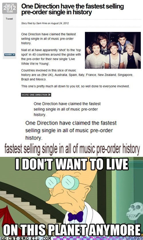 boy band i dont want to live on this planet anymore one direction pop music - 6600876288