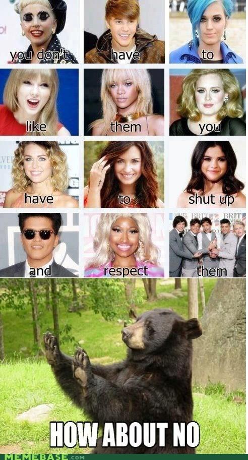 bear lady gaga respect - 6601314560