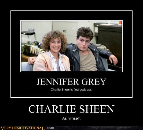 Charlie Sheen,jennifer grey,john hughes