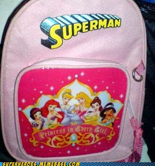 backpack disney princess how does this work superman - 6601491200
