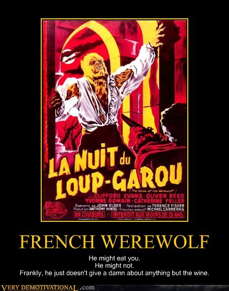 french,werewolf,wine,wtf