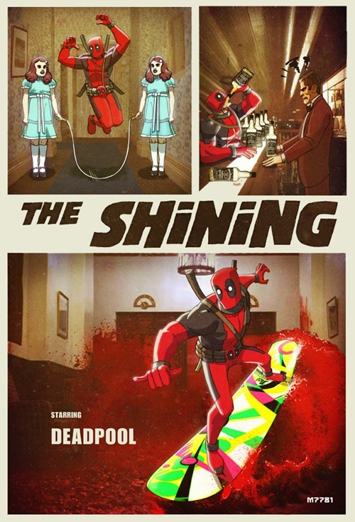 art,awesome,deadpool,fun times,the shining