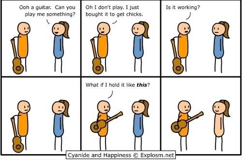 comic,cyanide & happiness,cyanide-happiness,girls,guitars