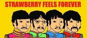 feels,strawberry fields forever,the Beatles