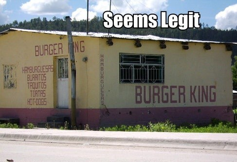 burger king,seems legit,wake up with the king