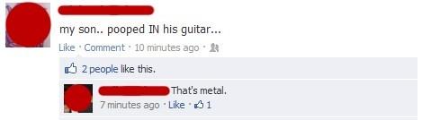 facebook guitar metal poop - 6602087424
