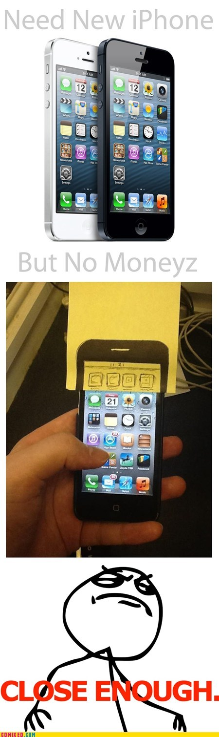 iphone money apple upgrade Close Enough