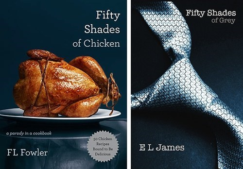chicken cookbook,fifty shades of chicken,fifty shades of grey