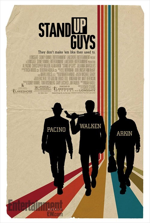 al pacino alan arkin christopher walken Movie poster stand up guys - 6602348288