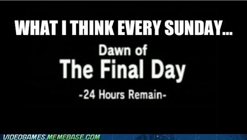 dawn of the final day,majoras mask,sunday,zelda