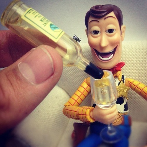drunk moar more toy story woody - 6602394112