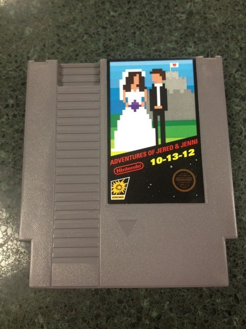 cartridge invitiation NES nintendo - 6602760448