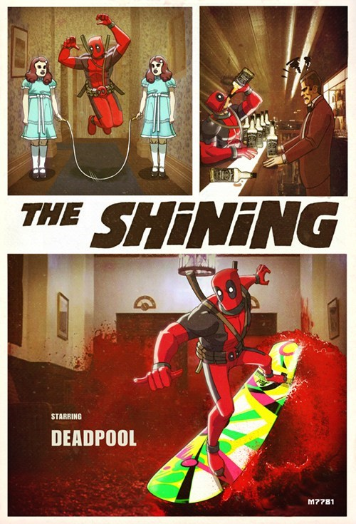 deadpool nerd nightcap the shining - 6602928640