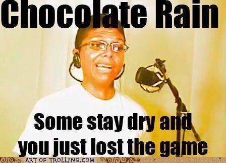 chocolate rain,tay zonday,the game