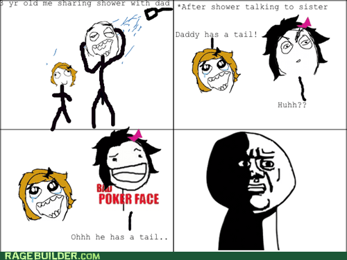daddy,poker face,shower,bad poker face,oh god why