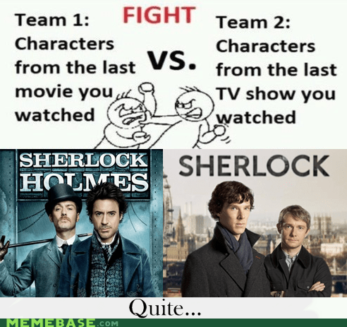 Battle,characters,Movie,sherlock holmes,TV